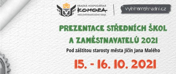 Ohlédnutí za Prezentací středních škol a zaměstnavatelů 2021 v Jičíně aneb PSSZ Jičín v číslech